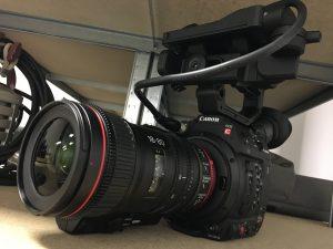 C200 MkII et Zoom Servo Canon